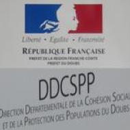 Direction Départementale de la Cohésion Sociale et de la Protection des Populations de Franche-Comté